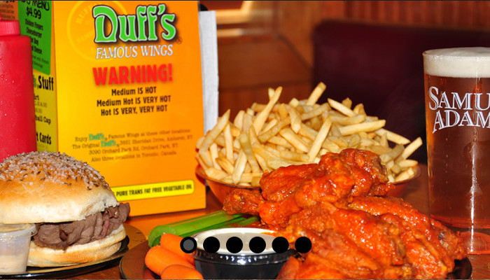 Duff's Famous  Wings- Buffalo