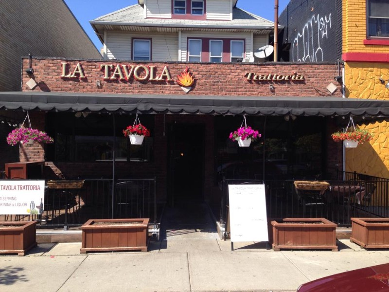 la tavola trattoria step out buffalo. Black Bedroom Furniture Sets. Home Design Ideas