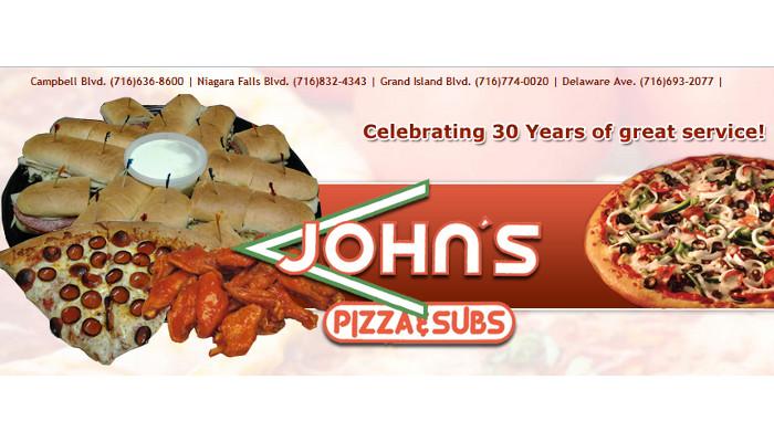 John's Pizza & Subs - Tonawanda