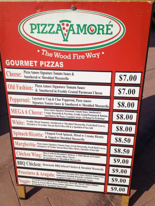 Pizza Amore Woodfire Food Truck Step Out Buffalo