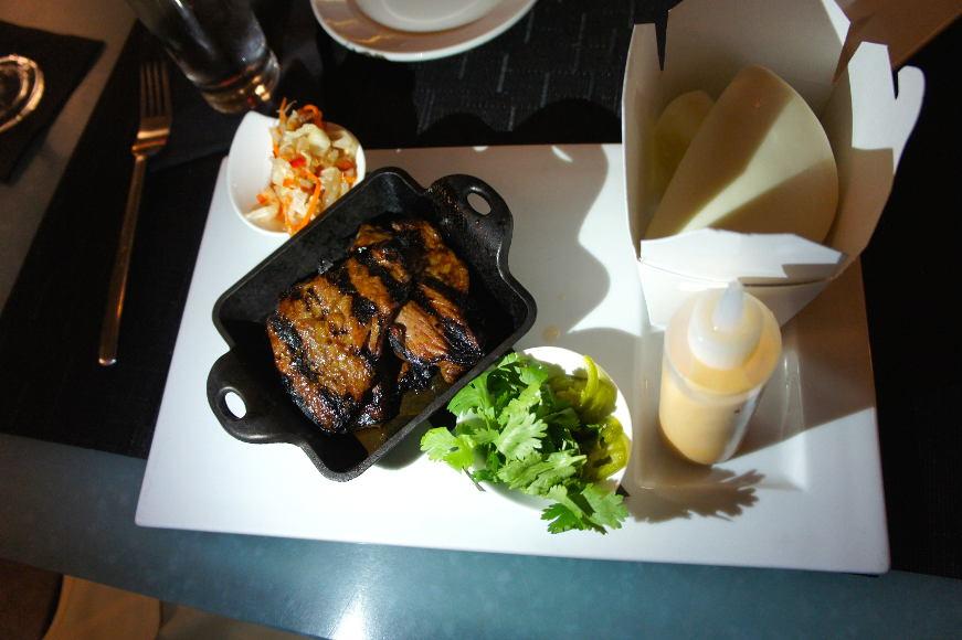 Bourbon and Butter: Korean Kalbi Beef Steamed Bun