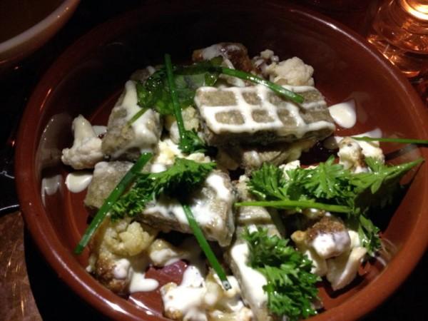Buffalo Proper: Chickpea & Lentil Fritters