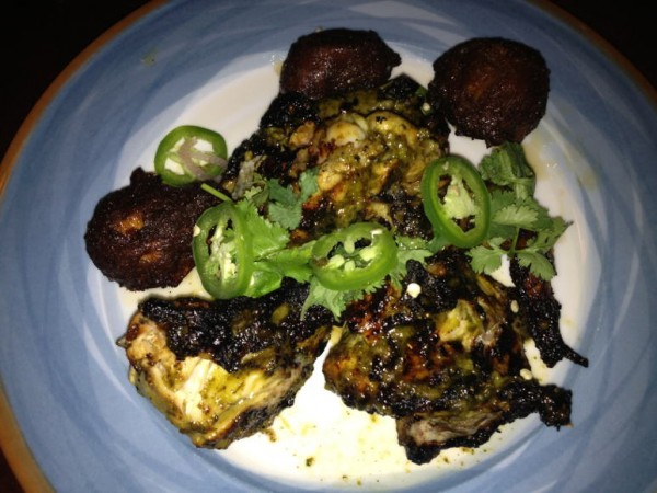 Jerk Chicken at Oshun / Step Out Buffalo