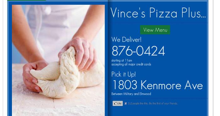 Vince's Pizza Plus