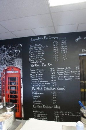 British Chippy board