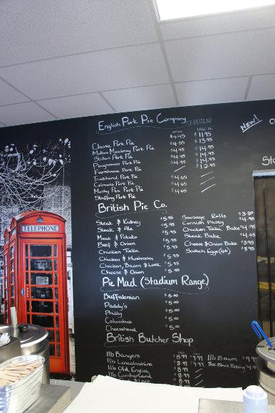 British Chippy board