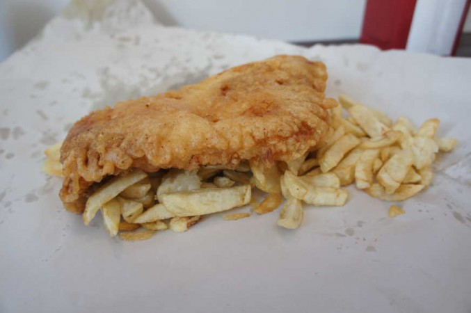 British Chippy cod