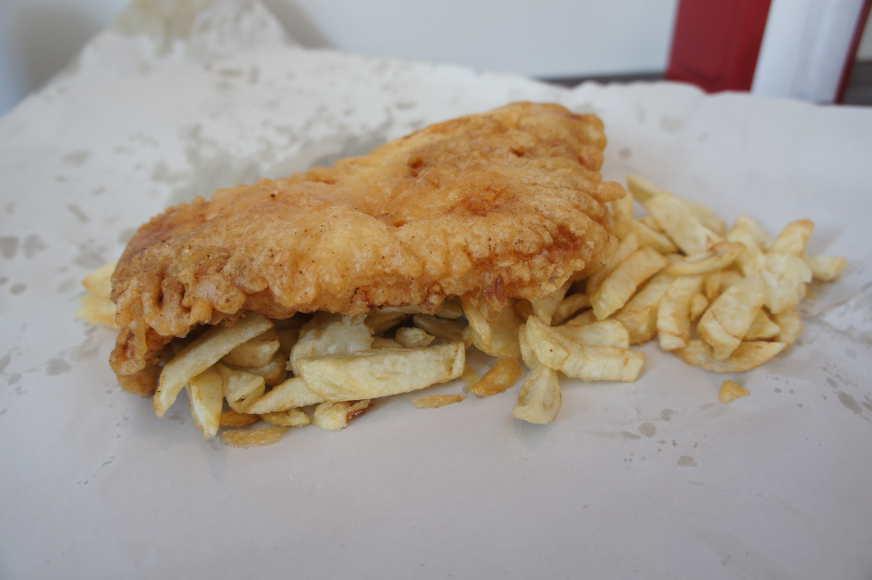 British Chippy cod