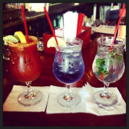Blueberry Mojito and friends @ Black Rock Kitchen and Bar