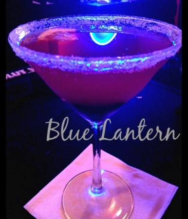 Lavender Blueberry Lemon Drop Martini @ Blue Lantern Lounge
