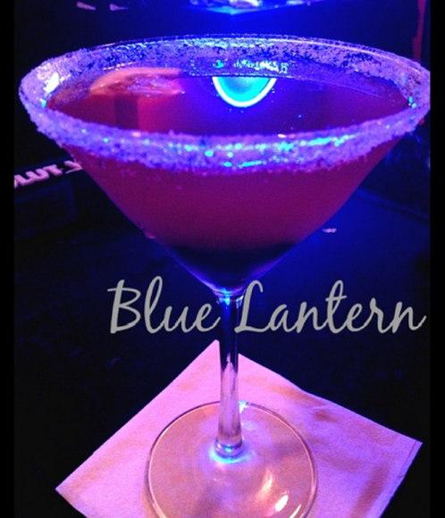 Lavender Blueberry Lemon Drop Martini @ Blue Lantern Lounge