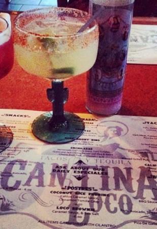 Spicy Margarita @ Cantina Loco