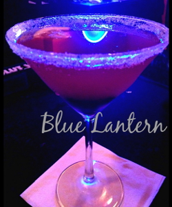 Blue Lantern Cocktails