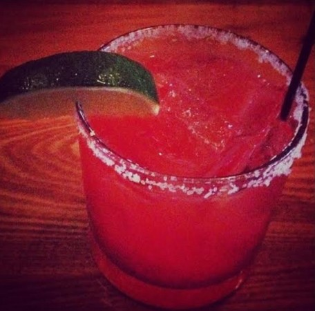 Blood Orange Margarita from jojo Bistro & Wine Bar