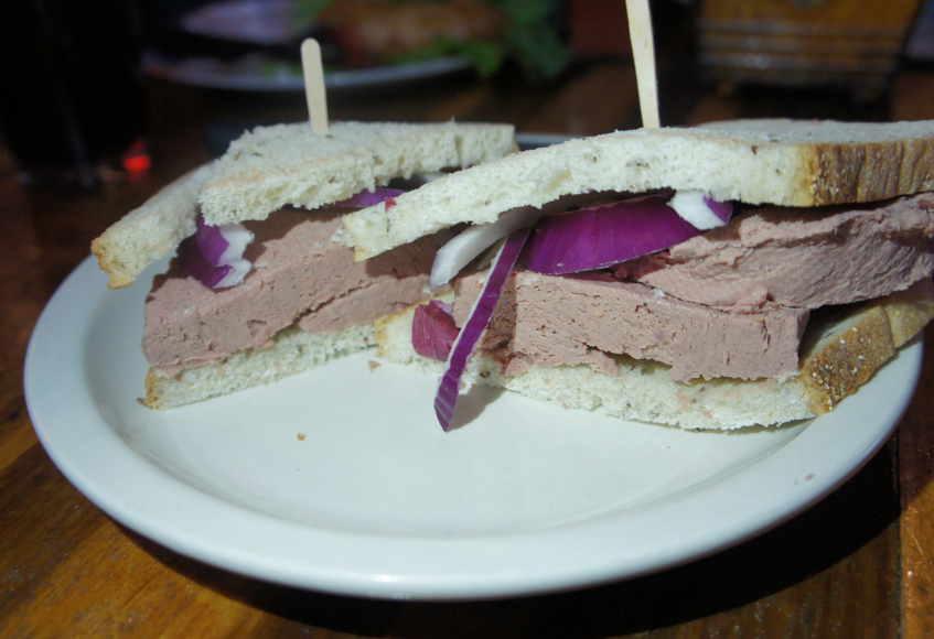 Swannie House liverwurst