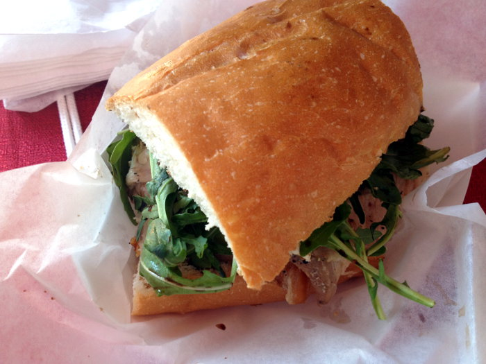 Porchetta Sandwich from The Whole Hog Food Truck