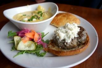 Lamb Burger @ Winfield's Pub