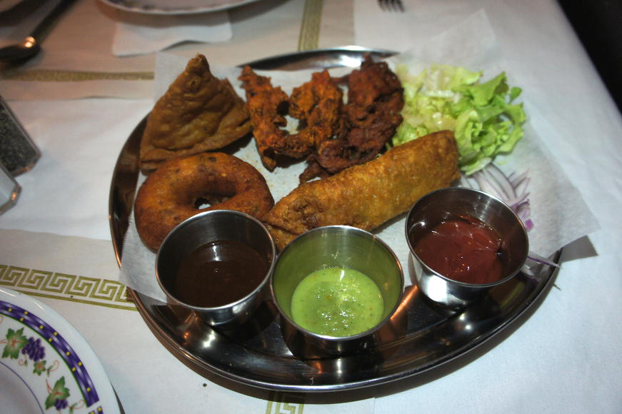 Chennai Sampler Sauces