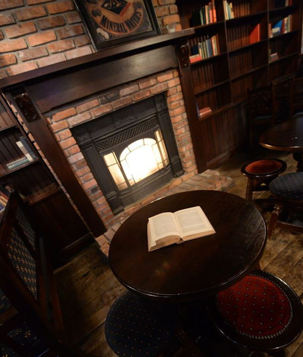 D'Arcy McGees Fireplace