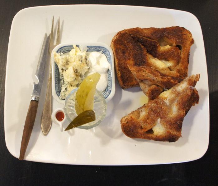 Sharp Cheddar Toast