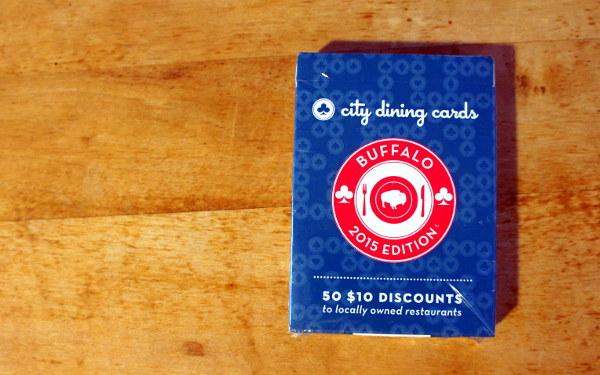 City Dining Cards: Buffalo Edition