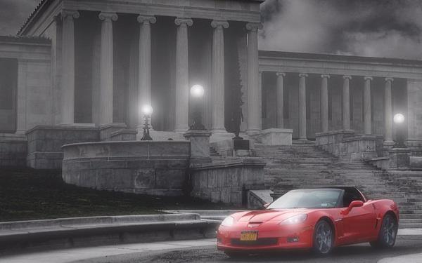Redline Rentals Corvette
