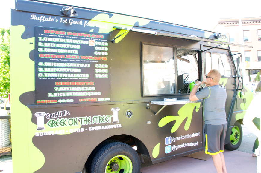Greek on the Street Food Truck