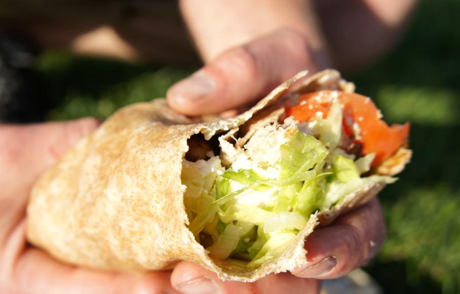 Chicken Souvlaki Wrap