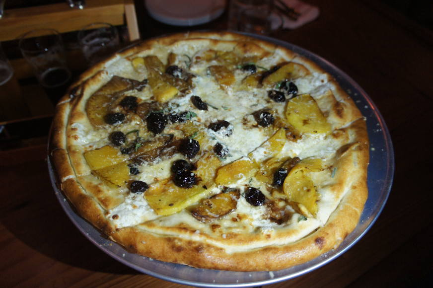 Butternut Squash Pizza @ Hydraulic Hearth