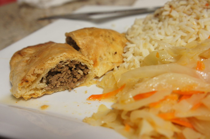 Michelle's Caribbean Cuisine Beef Pie