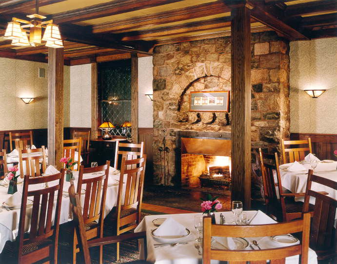 The Roycroft Inn Fireplace