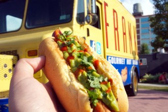 Frank Gourmet Hot Dog Food Truck