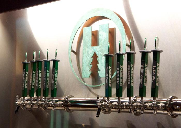 Hamburg Brewing Co Taps