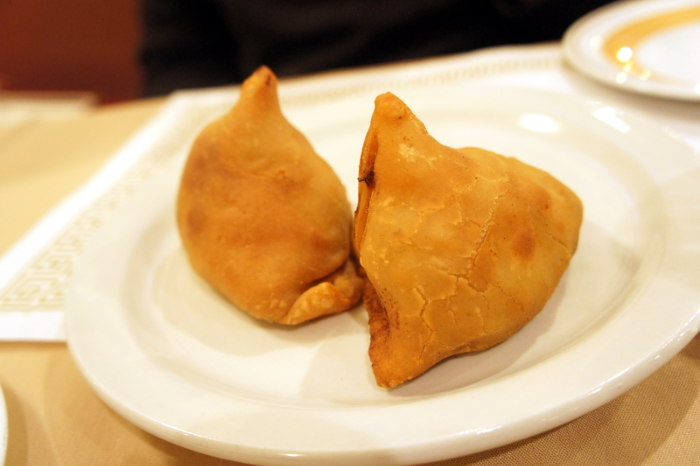Alu Mater Samosa at India Gate