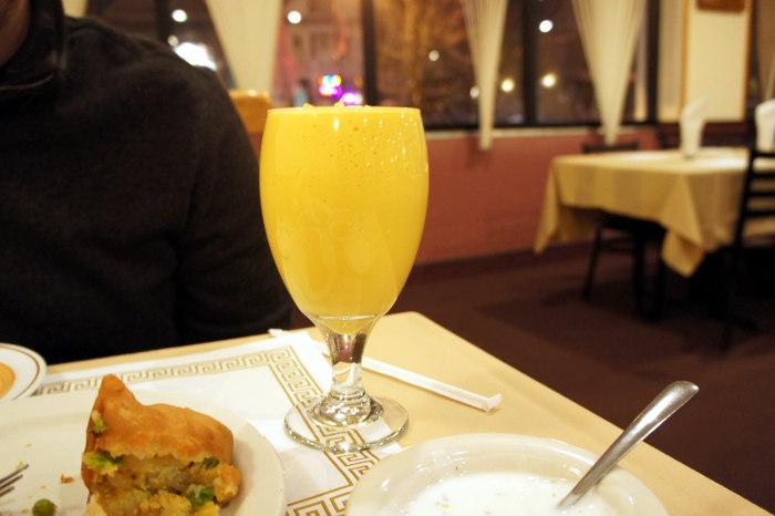 Mango Lassi at India Gate