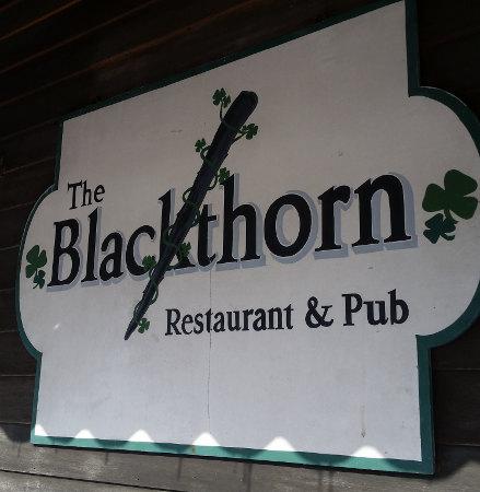 Blackthorn-sign