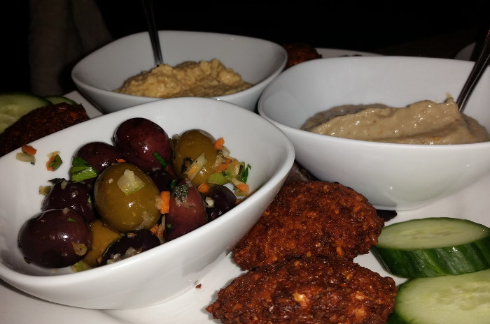 Mediterranean Platter at Merge