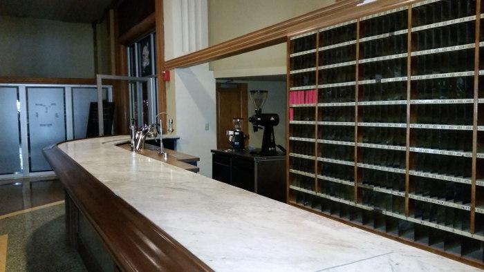 New Espresso Bar in the Lobby of Hotel Lafayette