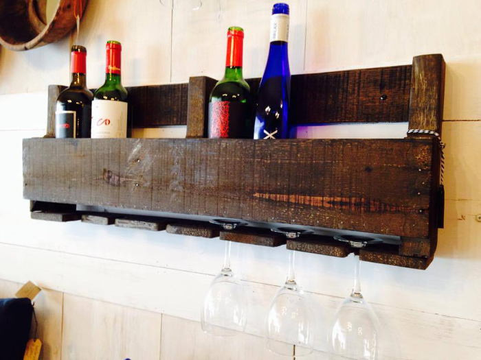 Wine Rack from The Painted House