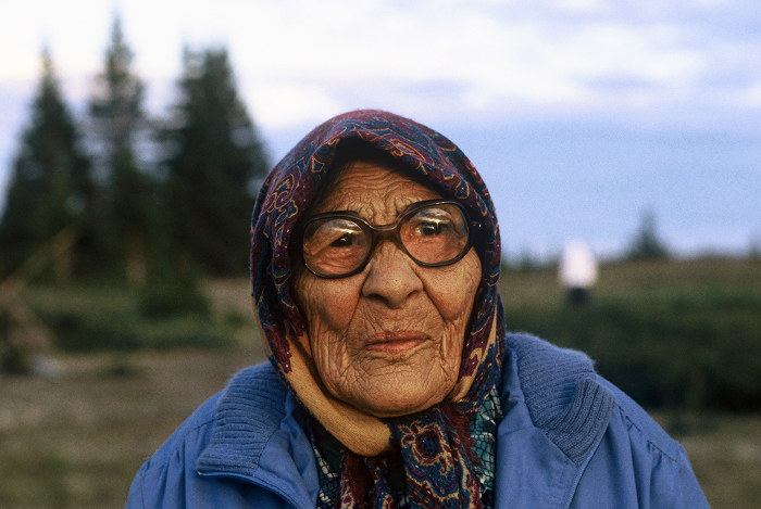 Cree Elder Woman