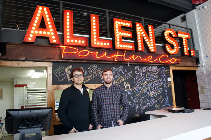 Allen St. Poutine Co. in Buffalo, NY on Step Out Buffalo