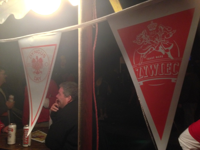 Dyngus Day parties in Buffalo, NY - Dyngus Day Flags