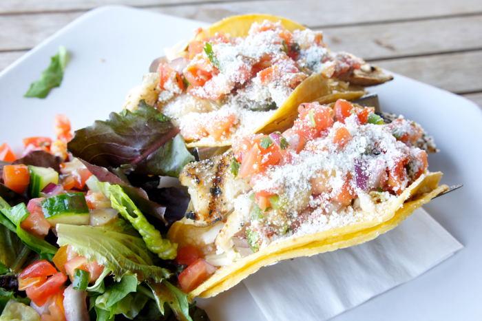 Seafood Tacos at Liberty Hound - Step Out Buffalo