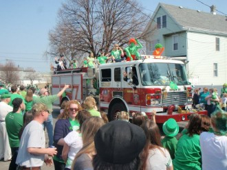 Old Neighborhood Parade, Step Out Buffalo, things to do in buffalo, wny, old first ward, st patrick's day in buffalo, st patricks day