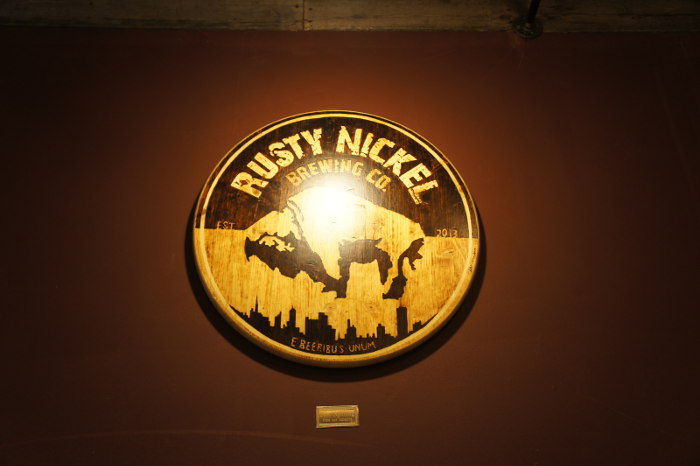 Step Out Buffalo, buffalo ny, breweries in buffalo, new brewery, beer, tasting room, Rusty Nickel Brewing Company, Rusty Nickel, Buffalo brewing company, West Seneca, places to get a drink in the south towns, places to get a drink in west seneca, sign