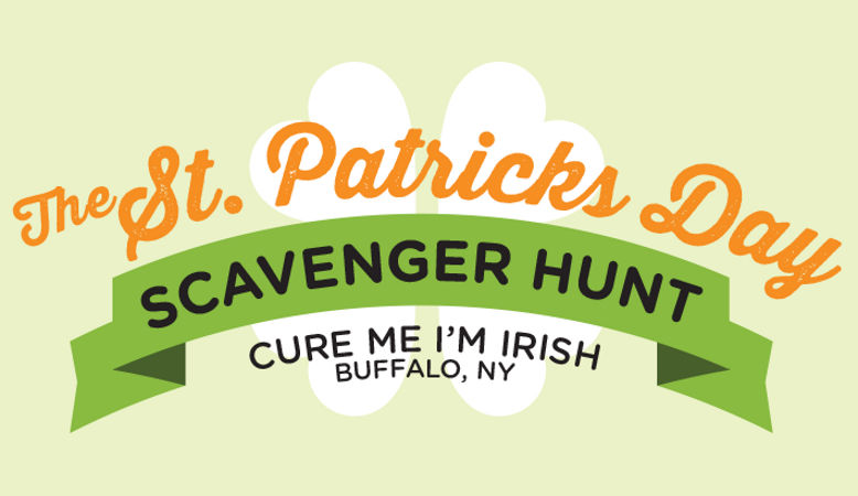St. Patrick's Day Scavenger Hunt and Cure Me I'm Irish After Party