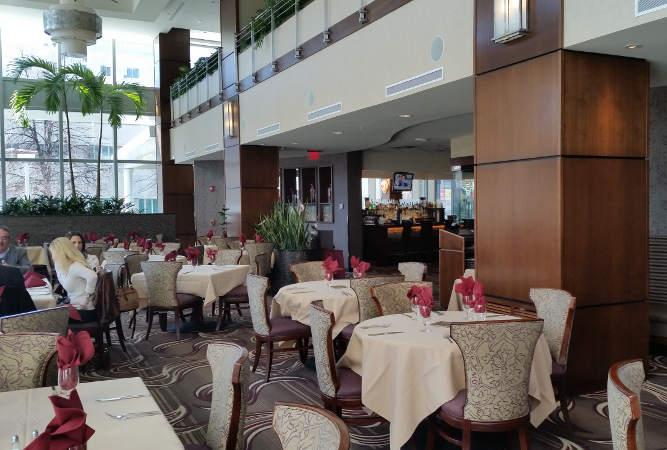 Della Terra Buffalo brunch restaurant dining room