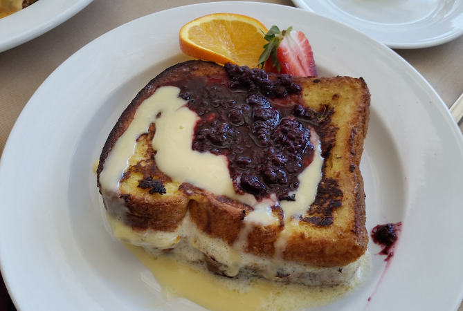 Della Terra Buffalo brunch restaurant French Toast