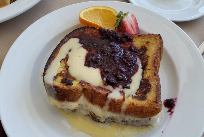 Della Terra Buffalo brunch restaurant French Toast