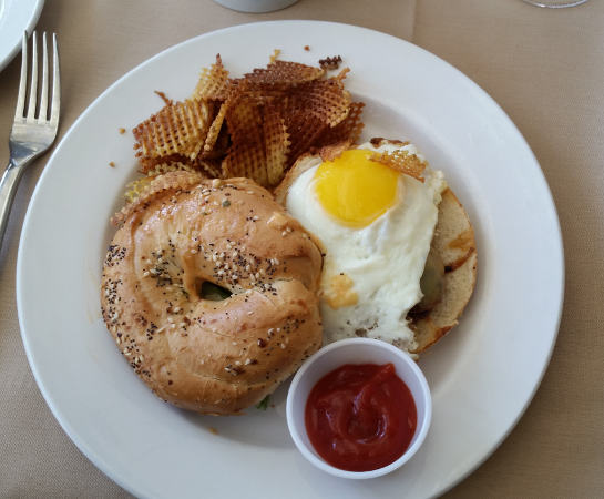 Della Terra Buffalo brunch restaurant breakfast sandwich